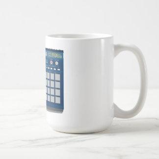 Akai MPC 2000xl Drum Machine Blue Classic White Coffee Mug