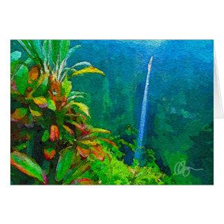 Akaka Falls Greeting Cards