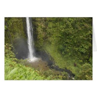 Akaka Falls, Hamakua Coast, Island of Hawaii, Card