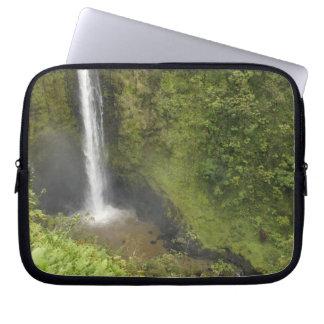 Akaka Falls, Hamakua Coast, Island of Hawaii, Laptop Computer Sleeves