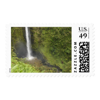 Akaka Falls, Hamakua Coast, Island of Hawaii, Postage Stamp