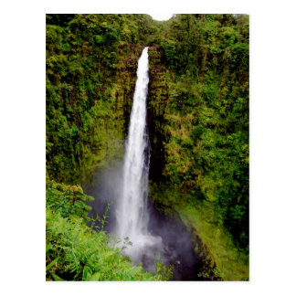 Akaka Falls, Island of Hawaii Waterfall Postcards