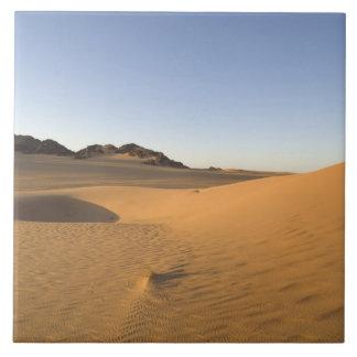 Akakus, Sahara desert, Fezzan, Libya. Tile