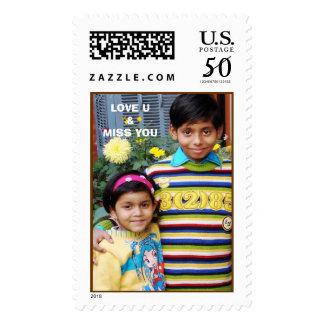 akash saloni, LOVE U&MISS YOU Postage