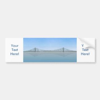Akashi Kaikyo Suspension Bridge: aka Pearl Bridge Bumper Sticker