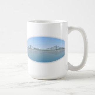 Akashi Kaikyo Suspension Bridge: aka Pearl Bridge Coffee Mug