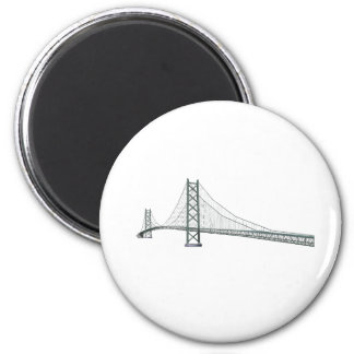 Akashi Kaikyo Suspension Bridge: aka Pearl Bridge Magnet
