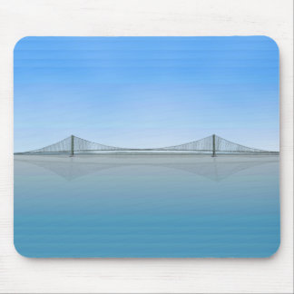 Akashi Kaikyo Suspension Bridge: aka Pearl Bridge Mouse Pad