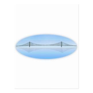 Akashi Kaikyo Suspension Bridge: aka Pearl Bridge Postcard