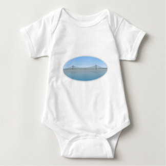 Akashi Kaikyo Suspension Bridge: aka Pearl Bridge Tee Shirt