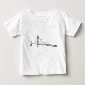 Akashi Kaikyo Suspension Bridge: Pearl Bridge Baby T-Shirt