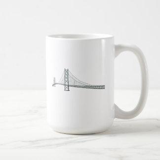 Akashi Kaikyo Suspension Bridge: Pearl Bridge Coffee Mug