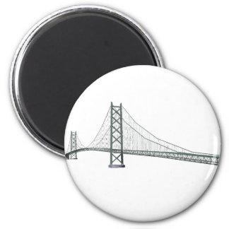 Akashi Kaikyo Suspension Bridge: Pearl Bridge Magnet