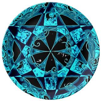 Akashic Insight Mandala Porcelain Plate