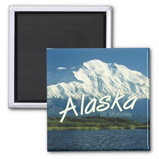Akaska State Travel Souvenir Fridge Magnet