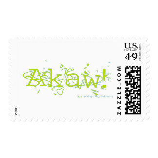 Akaw! Postage Stamps