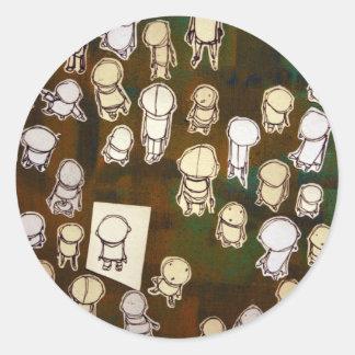 Akayo Round Stickers