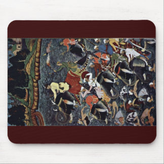 Akbar Crosses The Ganges' By Ikhlas (Best Quality) Mouse Pad