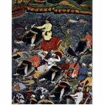 Akbar cruza el Ganges por Ikhlas (la mejor calidad Escultura Fotografica