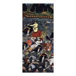 Akbar cruza el Ganges por Ikhlas (la mejor calidad Tarjeta Publicitaria A Todo Color