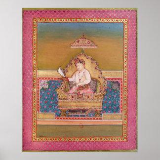 Akbar  from an album of portraits poster