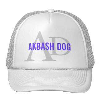 Akbash Dog Breed Monogram Trucker Hat