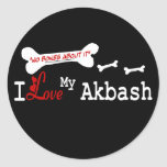 Akbash Dog Lovers Gifts Stickers