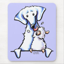 Akbash Dog Mom Mouse Pad