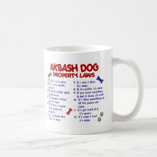 AKBASH DOG Property Laws 2 Coffee Mugs