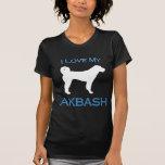 Akbash love  - blue tshirt