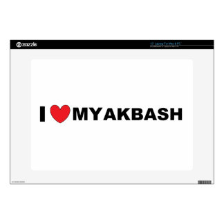 akbash love.png laptop skin
