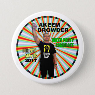 Akeem Browder for NYC Mayor Button