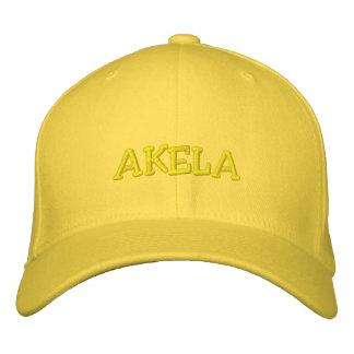 AKELA EMBROIDERED BASEBALL CAP