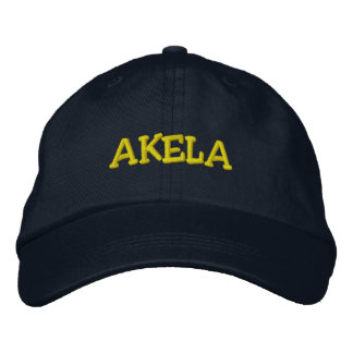 AKELA EMBROIDERED BASEBALL HAT