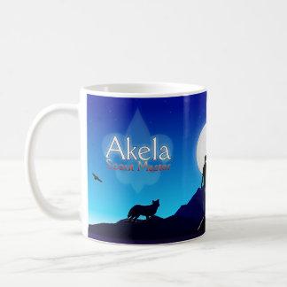 Akela - explorador #1 principal taza clásica