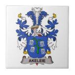 Akeleie Family Crest Tiles