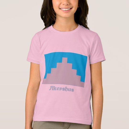 Akershus flag with name T-Shirt