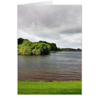 Akes Lough Gur Clouds Trees Ireland Cards