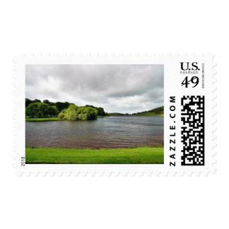Akes Lough Gur Clouds Trees Ireland Postage Stamp