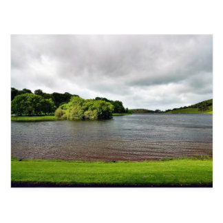 Akes Lough Gur Clouds Trees Ireland Postcards