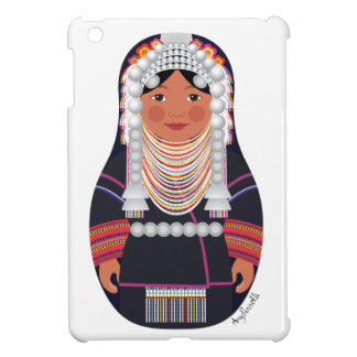 Akha Girl Of Thailand Matryoshka iPad Mini Case