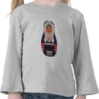 Akha Girl Thailand Matryoshka Toddler Long Sleeve Tee Shirts