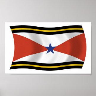 Akha People Flag Poster Print