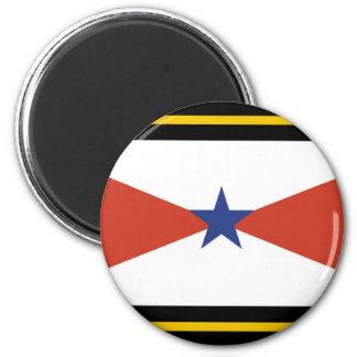 Akha People flag Thailand ethnic Fridge Magnet