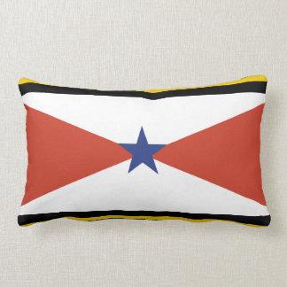 Akha People flag Thailand ethnic Throw Pillows