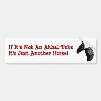 Akhal-Teke Horse Bumper Sticker