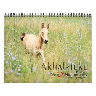 Akhal-Teke Horses 2 Calendar