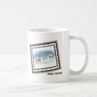 AKHALTEKE trecking picture mag cup Classic White Coffee Mug