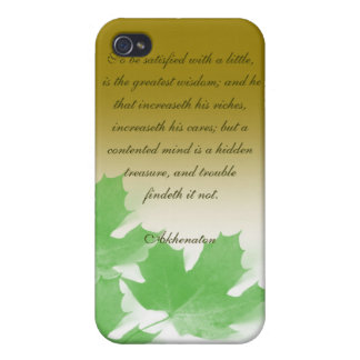 Akhenaton Quotes Hard Shell Case for Iphone