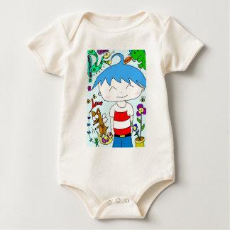 Aki-Kun Baby Bodysuit
